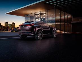 パリモーターショー2016で披露するレクサスブランドのコンセプトカー「UX Concept」