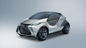 レクサスブランドのコンパクトカーのコンセプトモデル「LF-SA」