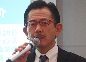 NTTデータGSLの小川兼一郎氏