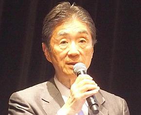 「SIPシンポジウム2016」の基調講演に登壇した安西祐一郎氏