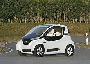 2012年に発表した超小型EV「MC-β」
