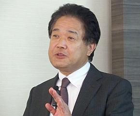アドバンスド・データ・コントロールズ ビジネス開発部 担当部長の名知克頼氏
