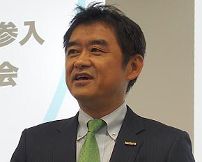 インフォテリアの平野洋一郎氏