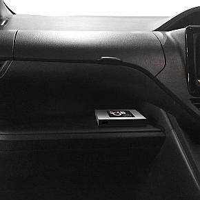 「SKB」の車内への設置イメージ