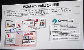 Getaroundとの提携によるSKBを用いたパイロットサービス