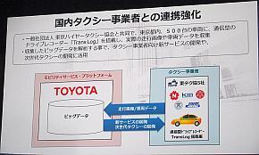 国内タクシー事業者と連携強化