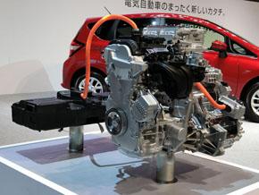 エンジンは発電のみ、駆動力はモーターでまかなうシステム「e-POWER(eパワー)」