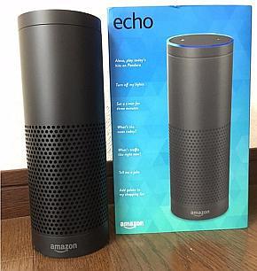 アマゾンの音声アシスタント機能付きスピーカー「Amazon Echo」