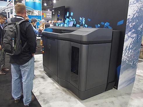 HPEが展示していた「HP Jet Fusion 3D 4200 Printer」