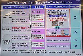 """「""""ミラー""""を中心としたテーターメイドビューティー」の仮設/検証"""