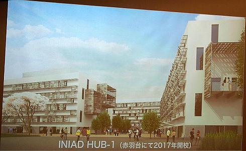 東洋大学情報連携学部の建屋