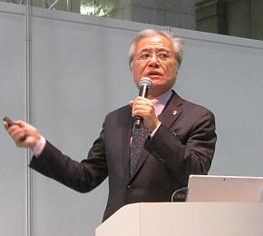 「エコプロ2016」で講演する坂村健氏