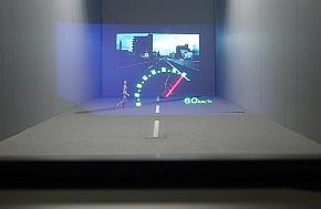 「3D AR HUD」によるメーター表示