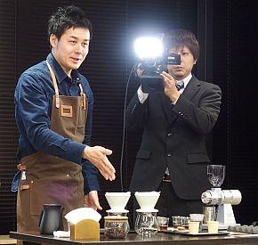 焙煎世界チャンピオンの後藤直紀氏