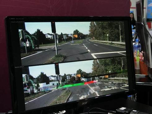 強化型ECCの有無によって記録した映像の品質が異なる