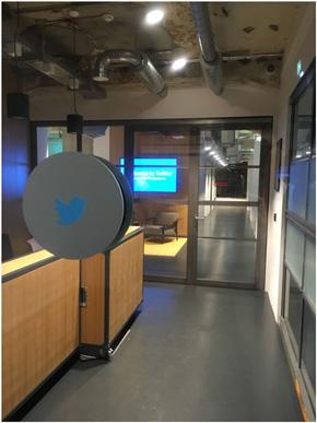 ベルリンにあるTwitterのオフィス