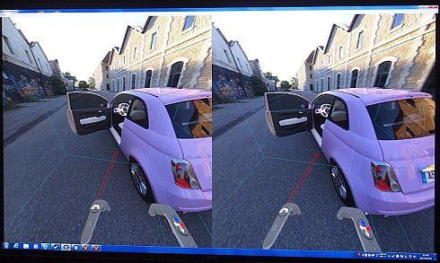 ルミスカフによる3D CADデータのVR表示