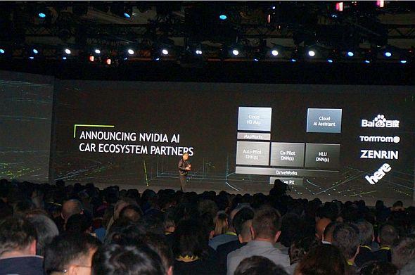 NVIDIAは百度、TomTom、ヒア、ゼンリンと提携。ほぼ全世界の地図データと連携できるようになった