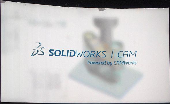 ソリッドワークスには「SOLIDWORKS CAM」が標準搭載される