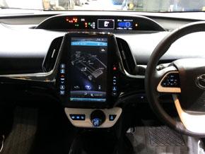 トヨタブランドとしては最大となる画面サイズ11.6型のナビゲーションシステム