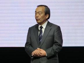 トヨタ自動車の内山田竹志氏