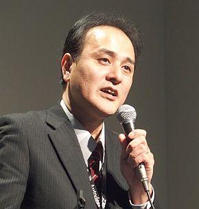 マツダ デザイン本部 デザインモデリングスタジオ デジタルデザイングループ マネージャーの辻和洋氏