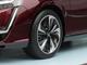 ロードノイズが10dB減少、タイヤのホイールに樹脂部品を足すだけ