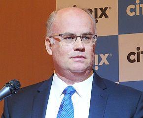 米国本社Citrix Systemsのカルロス・サルトリアス氏