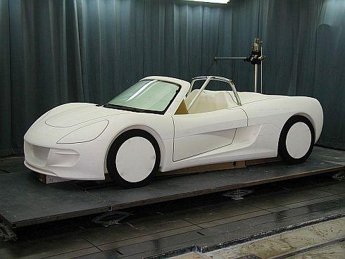 2012年8月頃、量産第1号車「トミーカイラZZ」のマスターモデル