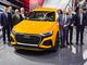 アウディの新型SUVは全長5m超で4人乗り、マイルドHVも搭載