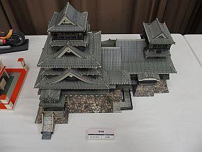 ミニチュアの熊本城