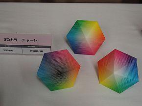 3Dカラーチャート