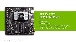 「Jetson TX2」の開発キット