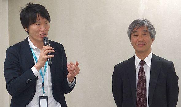 ソラコムの玉川憲氏(左)とPFNの丸山宏氏(右)