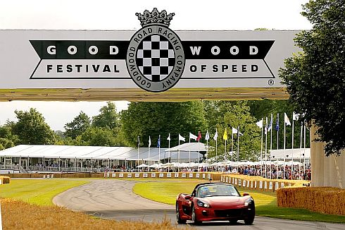 世界各国のレーシングカーが集結する「Goodwood Festival of Speed 2015」に参加
