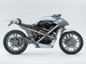 燃料電池二輪車のコンセプトモデル「クロスケージ」