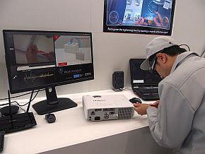 ウェアラブルデバイス着用者の作業内容を認識するAIのデモ