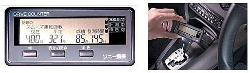 「やさしい運転キャッシュバック型」で用いるドライブカウンター