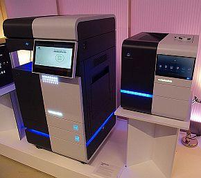 「ワークプレイスハブ」の中核になるサーバ付き複合機