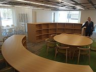 「INIAD Hub1」の「INIADメディアセンター」
