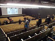 「INIAD Hub1」の多目的ホール