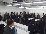 「INIAD Hub1」の研究室の内部