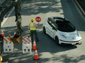 道路工事などイレギュラーな事態に自動運転車はどう対応するか