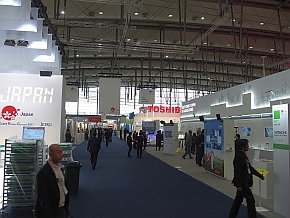 「CeBIT 2017」のジャパン・パビリオンの様子
