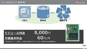 「sakura.io」の料金