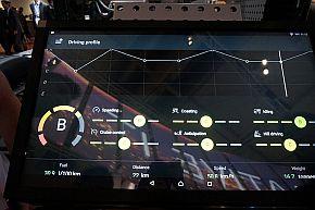 フリート管理サービス「Scania One」の画面