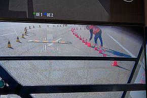 テレフォニカとエリクソンによる5Gを用いたクルマの遠隔操作のデモ