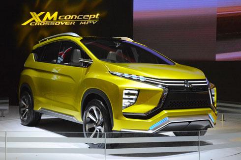 三菱自動車は根強いMPV需要に向けて、7人乗りクロスオーバーモデルのコンセプトカーを公開した。インドネシアではスライドドアを持つ日本的ミニバンも人気だが、それらとは異なったSUV感覚を魅力として訴えている