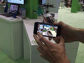 スマートフォン画面で操作できる
