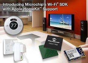 「HomeKit」をサポートするWi-Fiソフトウェア開発キットのイメージ